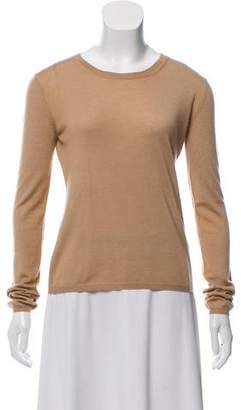 Miu Miu Long Sleeve Knit Top