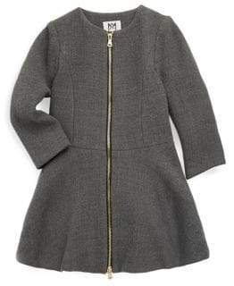 Milly Minis Toddler's, Little Girl's& Girl's Emma Double-Faced Coat