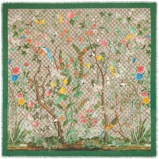 Gucci Tian modal silk shawl