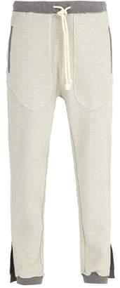 Maison Margiela Reversible Cotton Track Pants - Mens - Grey