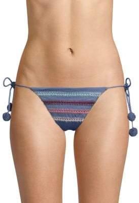 Dolce Vita Textured String Bikini Bottom