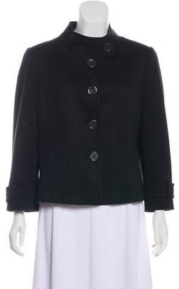 Tahari Arthur S. Levine Stand Collar Knit Jacket