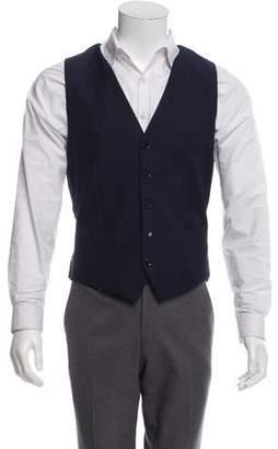 Dolce & Gabbana Herringbone Wool Waistcoat