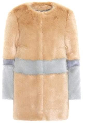 Shrimps Mantel Garfunkel aus Faux Fur