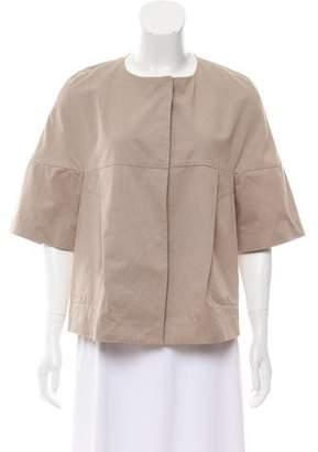 Marni Pleated Poplin Jacket