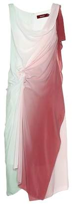 Sies Marjan Draped ombré silk dress