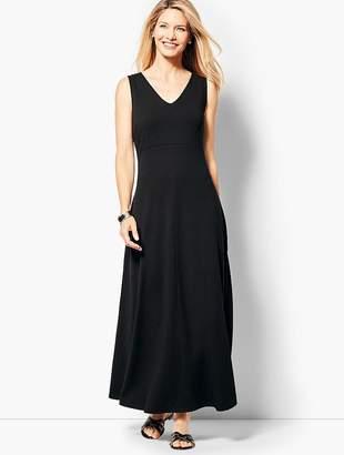 Talbots Casual Jersey Maxi Dress