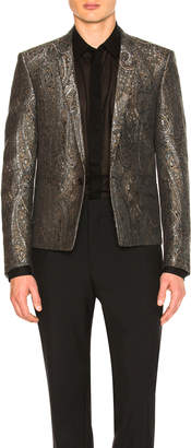 Saint Laurent Tapestry Jacquard Jacket
