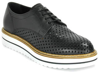 Summit By White Mountain - Bria - Leather Perforated Platform Oxford