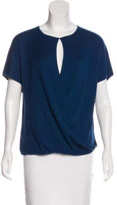 Derek Lam Cashmere & Silk Oversize Top