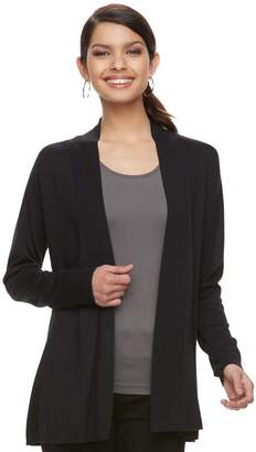 Apt. 9 Women's Essential Ribbed Sweater Cardigan