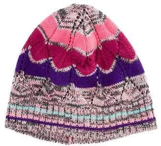 Missoni Patterned Knit Beanie