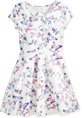 Epic Threads Butterfly-Print Skater Dress, Big Girls (7-16), Only at Macy's $42 thestylecure.com