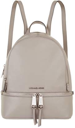MICHAEL Michael Kors Medium Leather Rhea Zipped Backpack
