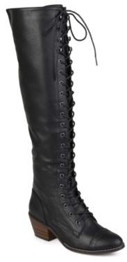 Journee Collection Bazel Over The Knee Combat Boot