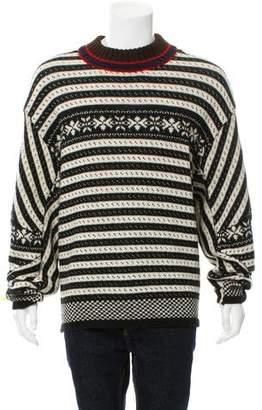 Dries Van Noten Talbot Fair Isle Sweater w/ Tags
