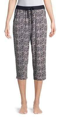 Sesoire Printed Capri Pajama Pants