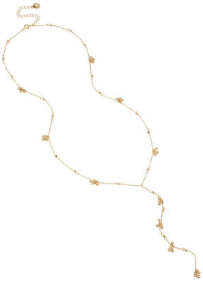 BCBGeneration Delicate Bead Y-Shaped Necklace
