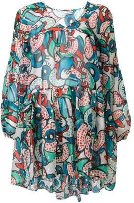 Tsumori Chisato short printed dress