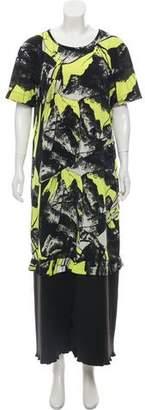 Kenzo Printed Maxi Dress