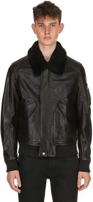 Belstaff Arne Leather Aviator Jacket