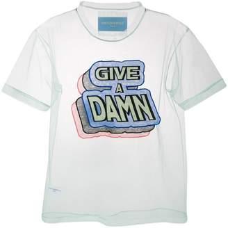 Viktor & Rolf sheer 'Give a Damn' T-shirt