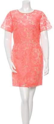 Veronica Beard Embroidered Sheath Dress