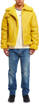 Opening Ceremony Shearling Jacket