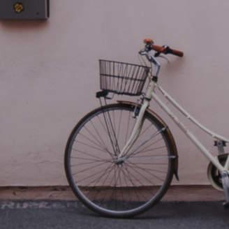 Lulu & Georgia Lone Bicycle Print