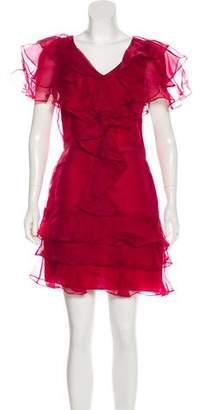 Rachel Zoe Ruffled Mini Dress w/ Tags