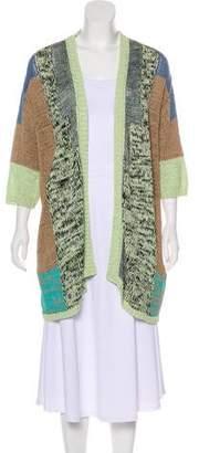 Etro Open Front Knit Cardigan