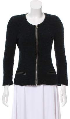 Etoile Isabel Marant Leather-Accented Bouclé Blazer