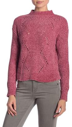 Love by Design Chenille Side Slit Sweater