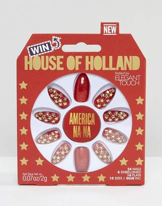 Elegant Touch House Of Holland Luxe By Stiletto Nails - Americana-Na