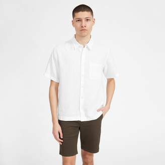 Everlane The Linen Relaxed Fit Short-Sleeve Shirt
