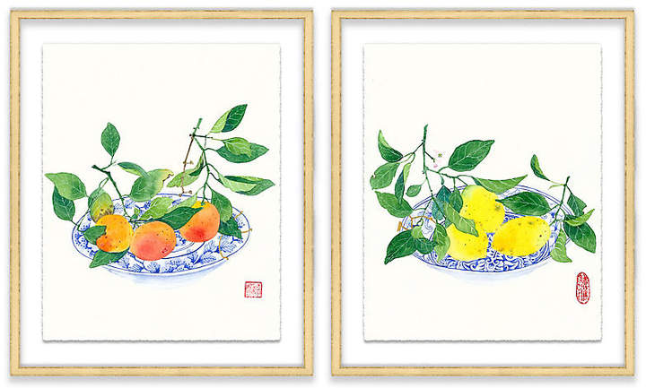 Clementines & Lemons Diptych - Gabby Malpas - 12