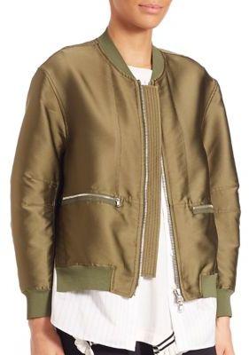 3.1 Phillip Lim Bomber Jacket $850 thestylecure.com