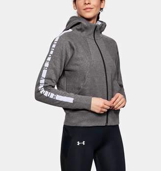 Under Armour Women's UA Cotton Ridge Fleece Full Zip Hoodie