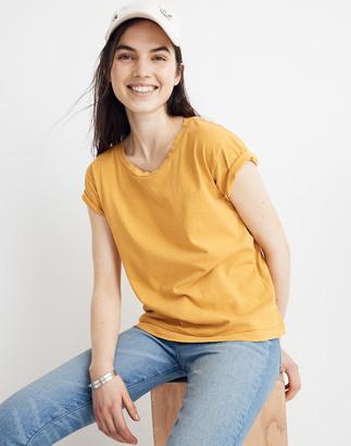 Madewell Garment-Dyed Ex-Boyfriend Tee