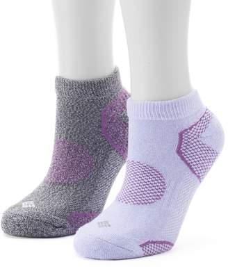Columbia Women's 2-Pack Balance Point Low-Cut Walking Socks