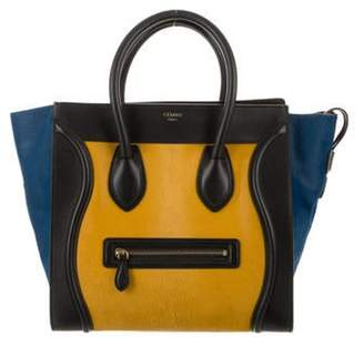 Celine Céline Tri-Color Mini Luggage gold Céline Tri-Color Mini Luggage