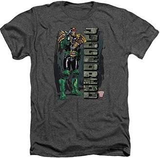 Trevco Men's Judge Dredd Blam Heather Adult T-Shirt