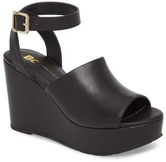 BC Footwear Admit One Platform Wedge Sandal (Women)