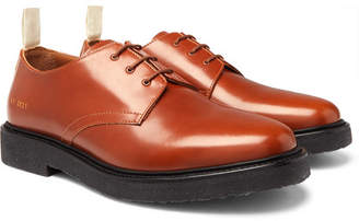 Common Projects Cadet Leather Derby Shoes - Men - Brown