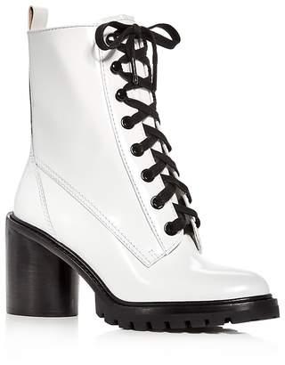 Marc Jacobs Women's Ryder Leather High-Heel Booties
