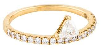 Anita Ko 18K Diamond Luxe Triangle Ring