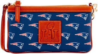 Dooney & Bourke NFL Patriots Superbowl Wristlet