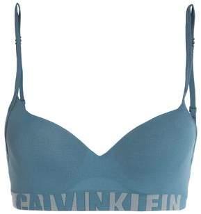 Calvin Klein Metallic Jersey Balconette Bra