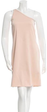 CelineCéline One-Shoulder Shift Dress w/ Tags