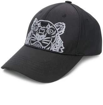 at Farfetch · Kenzo tiger embroidered cap 81b6286356c
